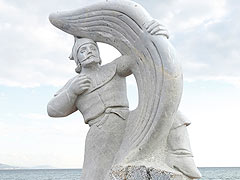12th The international Alanya stone sculpture symposium.