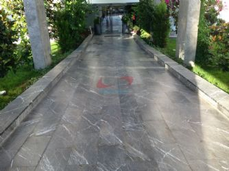 Emperador Dark Sand Blasted+Patinated Marble Applications / Emperador Dark Sand blasted+Patinated