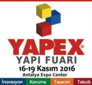 International Antalya Yapex Fair 16-19 November 2016